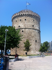 The White Tower used to be called 'The Red Tower,' because it was used as a prison by the Ottomans. The tower was whitewashed, a symbolic step to cleanse it of blood from torture and executions from the