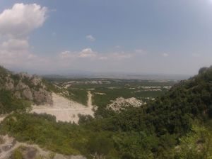 Our view from Mount Olympus.