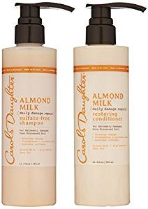 Carol's daughter almond milk shampoo and conditioner.jpeg