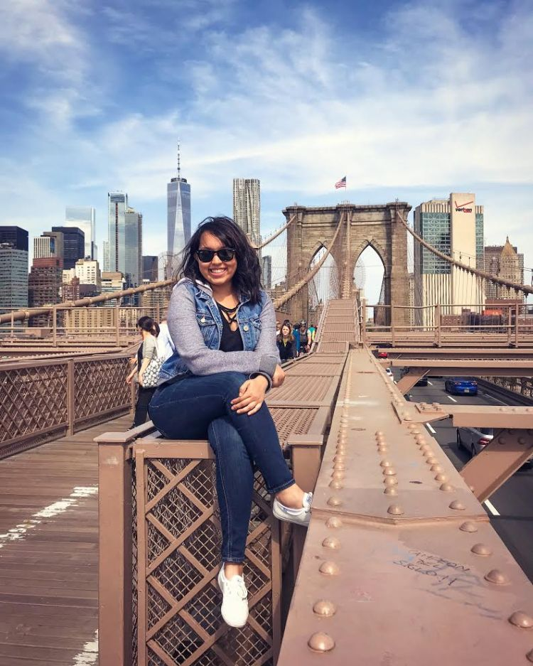 Hanging Out on the Brooklyn Bridge.jpg