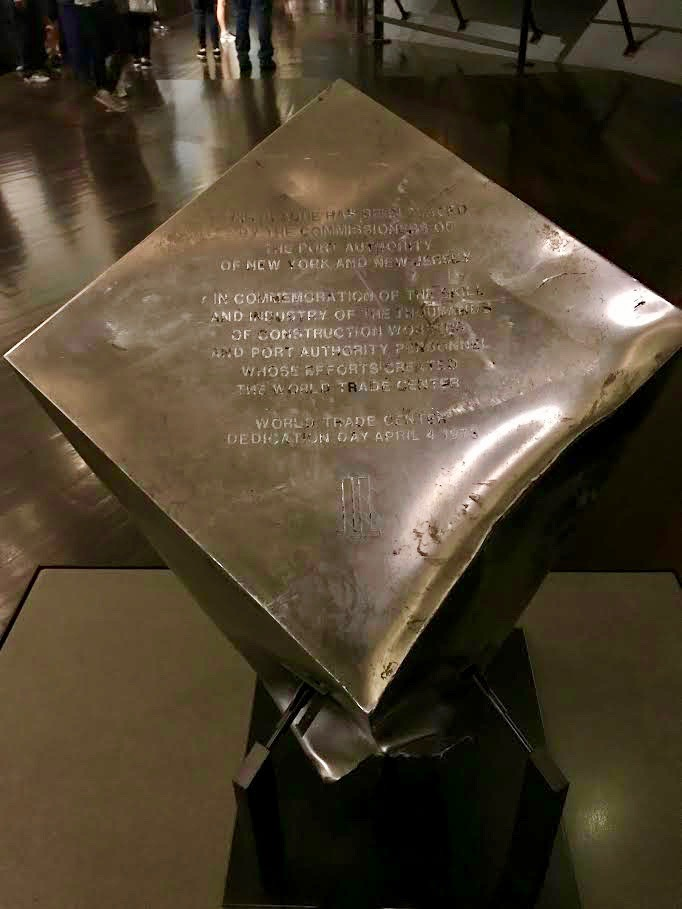 World Trade Center Dedication Pedestal.jpg