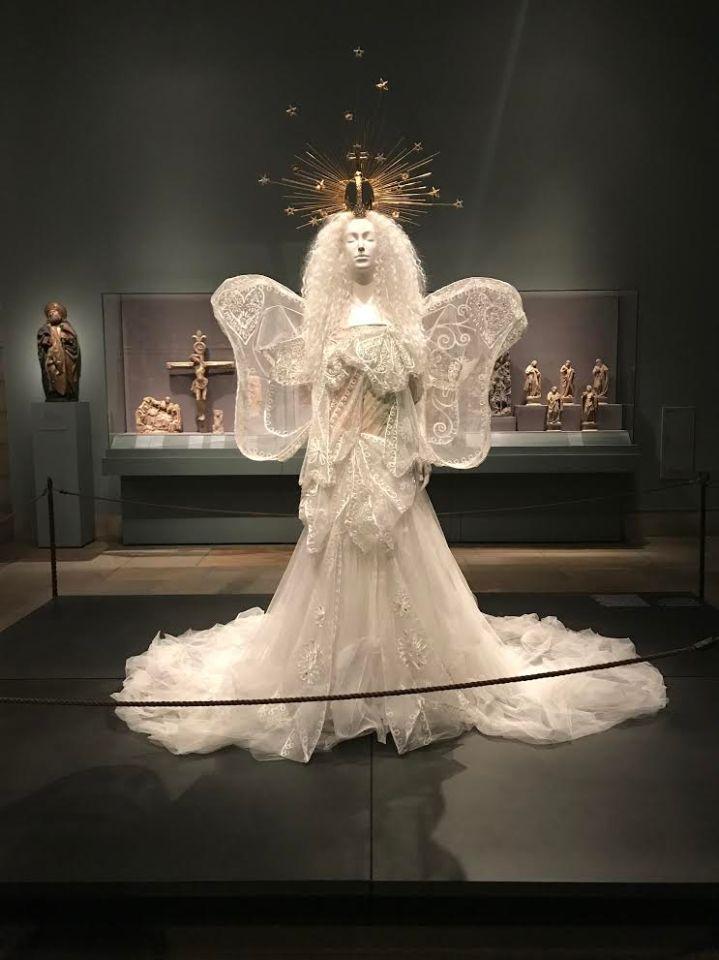 House of Dior Madonna Wedding Ensemble