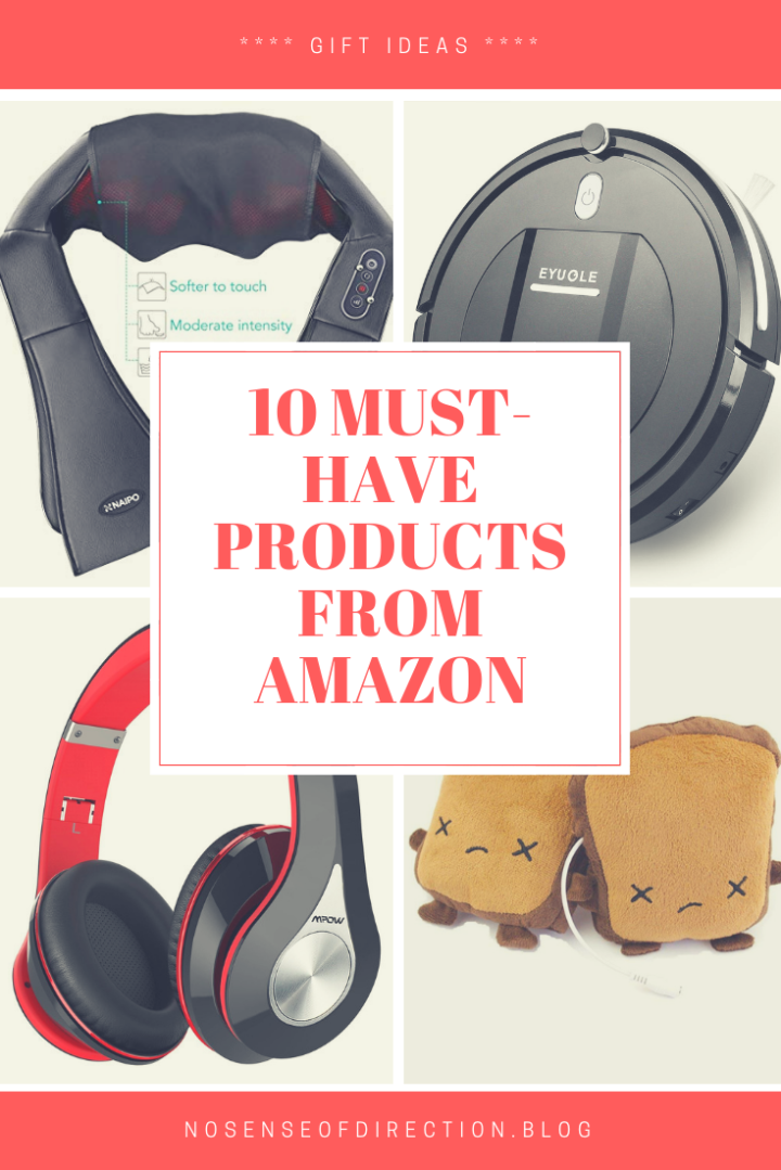 10 MUST-HAVE PRODUCTS FROMAMAZON