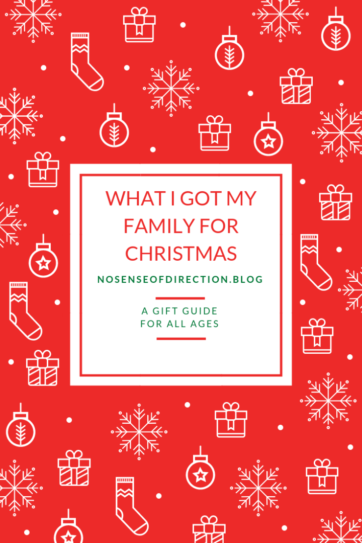 GIFT GUIDE: WHAT I GOT MY FAMILY FOR CHRISTMAS