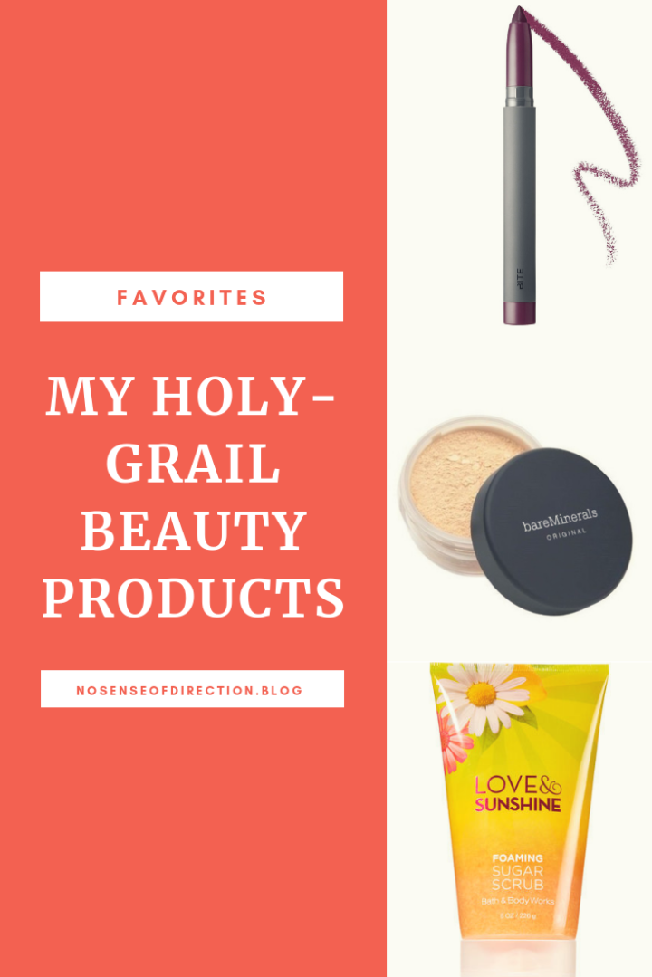 MY HOLY-GRAIL BEAUTY PRODUCTS