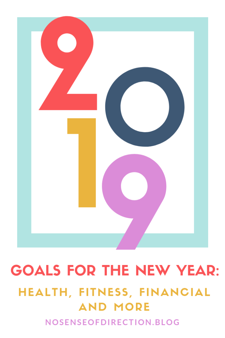 2019 Goals: Health, Fitness, Financial and More